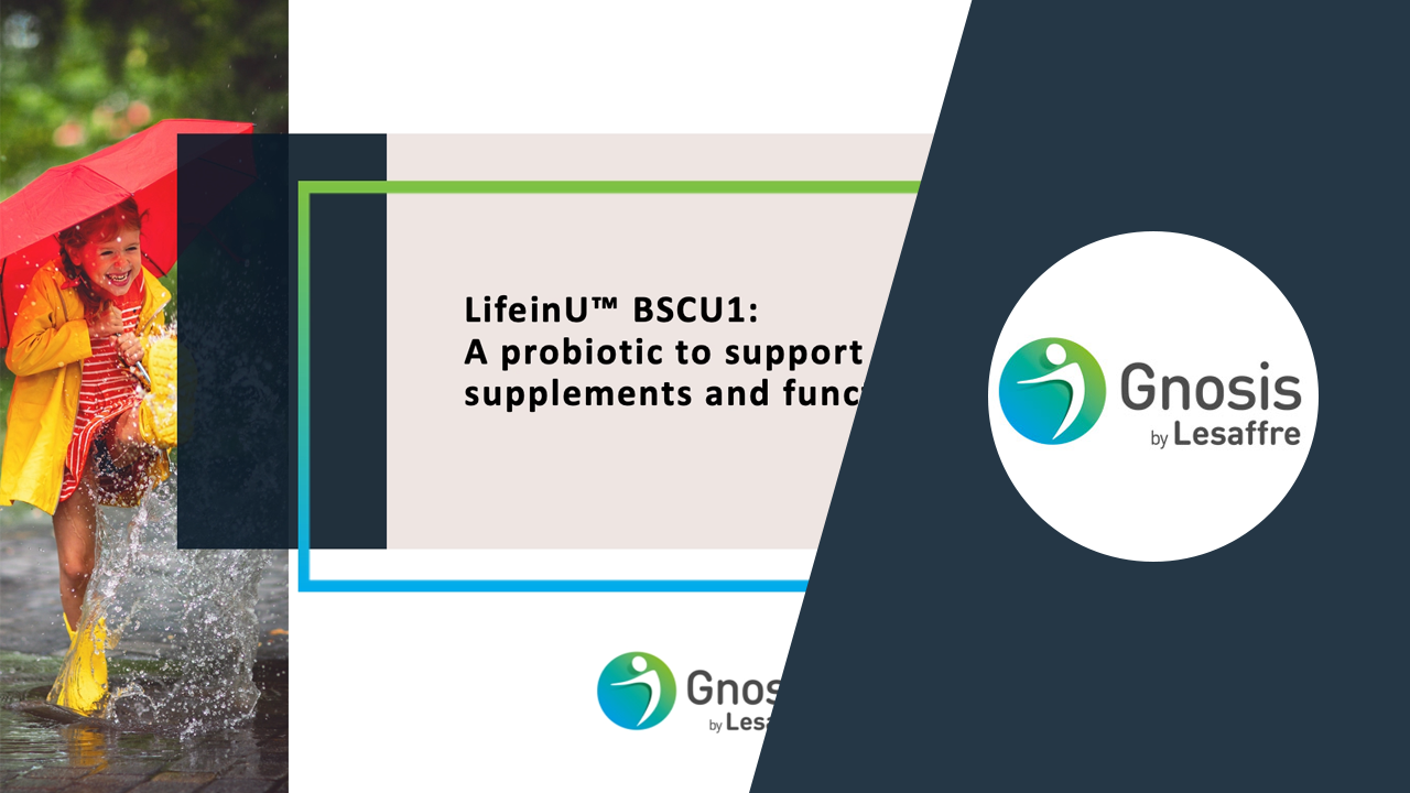 LifeinU BSCU1: A probiotic to support immunity in supplements and functional food